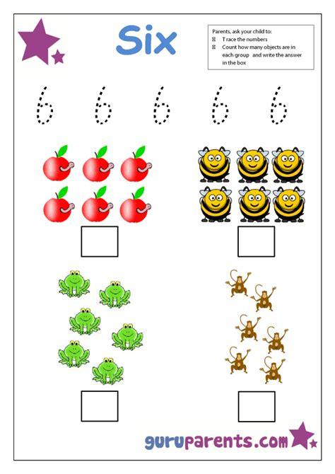 preschool number activities guruparents