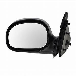Chrome Folding Manual Side View Mirror Driver Left Lh For