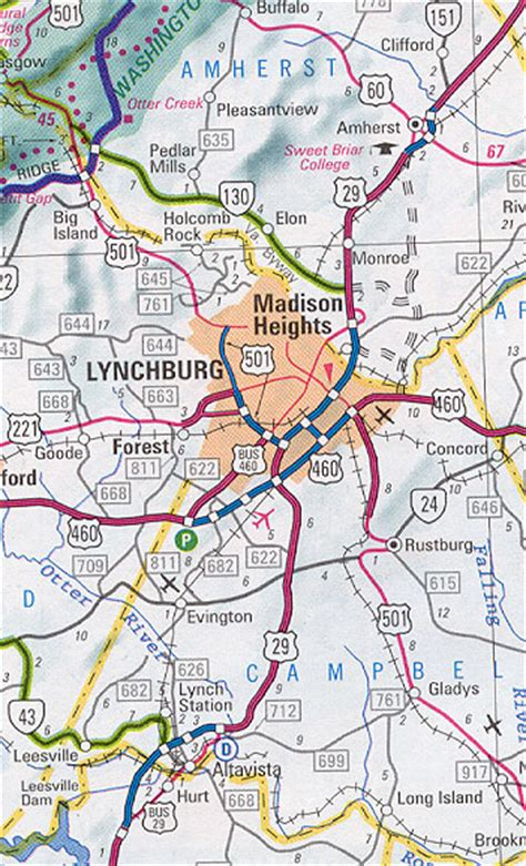 lynchburg virginia offender map is us 29 lynchburg madison heights bypass