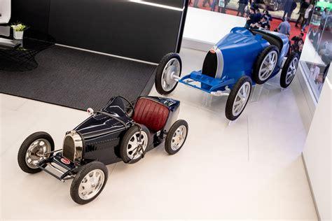 The original bugatti baby prototype was built in 1926. Bugatti Baby Reborn: a 110th Surprise Birthday Present — Bugatti Newsroom