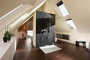 Bad Im Schlafzimmer : glasw nde im bad offene b der badezimmer dachgeschoss ~ A.2002-acura-tl-radio.info Haus und Dekorationen
