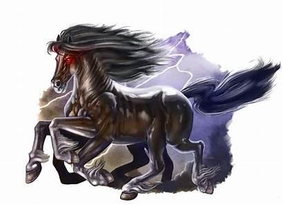 Horse Lightning Mythology Beast Monster Divine Fantasy