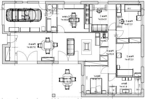 plan de maison 120m2 4 chambres stunning maison plain pied 120m2 with maison plain pied 120m2