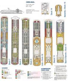 22 body carnival cruise breeze deck plans punchaos com