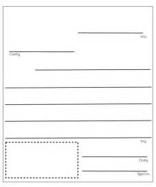 First Grade Friendly Letter Template