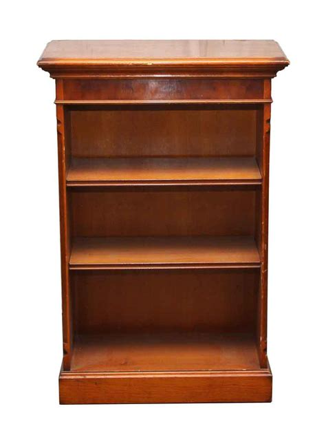 Wooden Bookcase by Wooden Bookcase With Two Shelves Olde Things