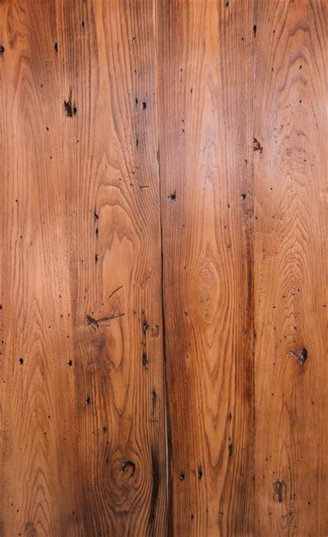reclaimed chestnut planed oil finish