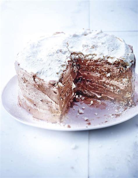 cuisiner du chou fleur gâteau meringué chocolat noisettes et café pour 4