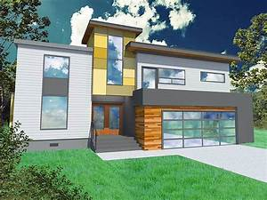2 Story Simple Modern House Exterior Design | 4 Home Decor