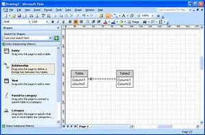Crows Foot Notation In Visio 2007