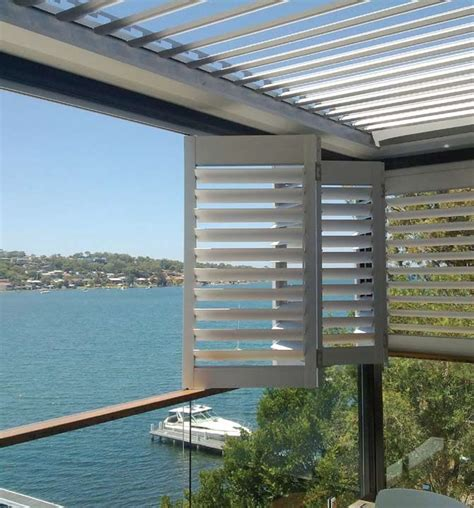 aluminum shutters for patio house window louvers best ideas about aluminium shutters
