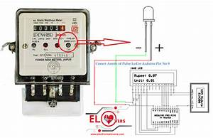 Check Electricity Meter Reading Wirelesly Using Arduino