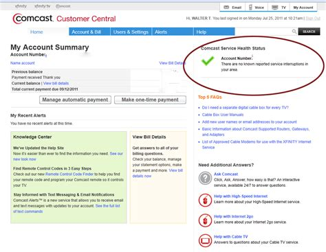 what is comcast phone number services comcast service number