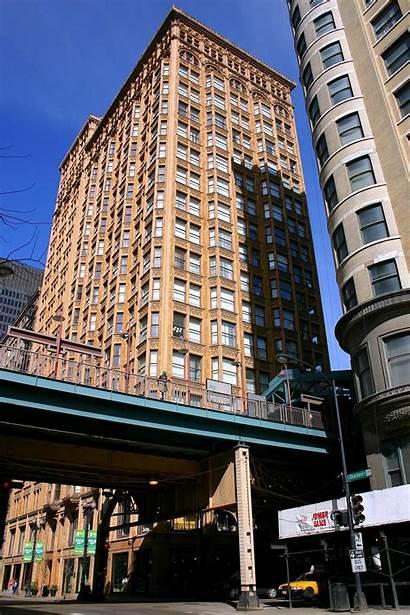 Chicago Building Fisher Van Buren Library State