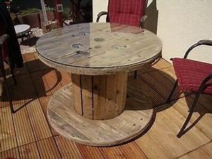 Tisch Aus Kabeltrommel : holz kabeltrommel als gartentisch ebay ~ Orissabook.com Haus und Dekorationen