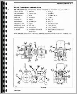 Massey Ferguson 1140 Tractor Service Manual