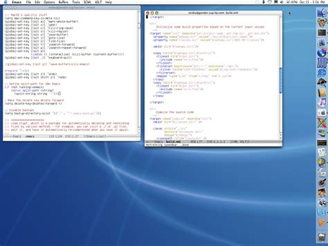Emacs For Macos X