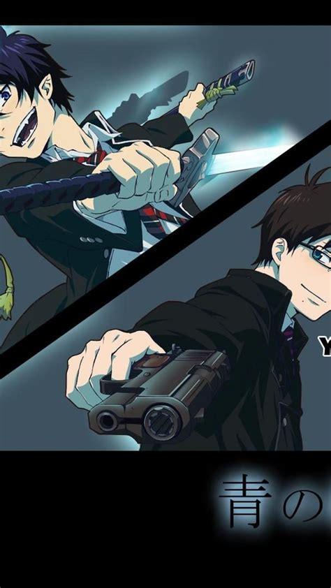13 aesthetic anime wallpaper blue exorcist