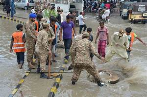 Video: Relief efforts by Army, Rangers continue in rain ...
