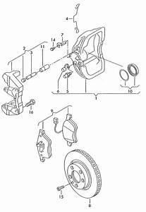 Volkswagen Eurovan 2 8l 6 Cylinder Rotor  Brake