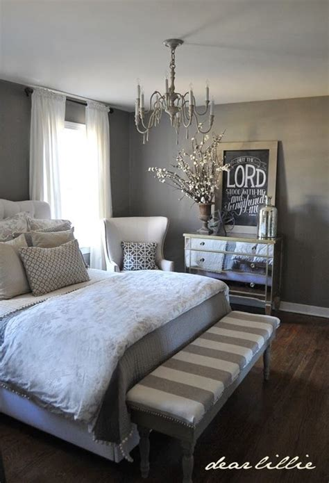 White and Grey Master Bedroom Ideas