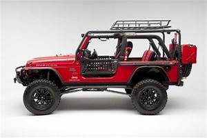 Body Armor 4 U00d74 2 Door Jeep Tj Roof Rack Base Unit