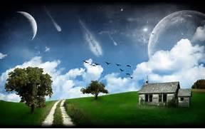 Beautiful Fantasy Scen...Beautiful Nature Scenery Wallpapers