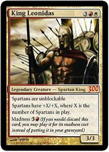 Leonidas I Quot... Famous Magic Card Quotes