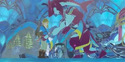 Zelda Breath Wild Legend Twilight Fish Chico