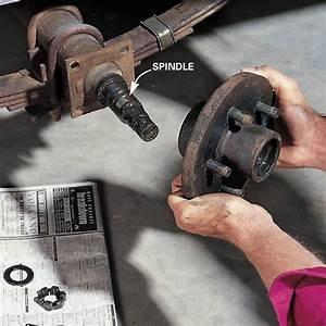 Repacking Trailer Wheel Bearings