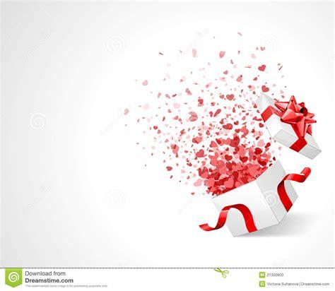dans le cadre de confettis de coeur d amour dans le cadre photo stock image 21300800