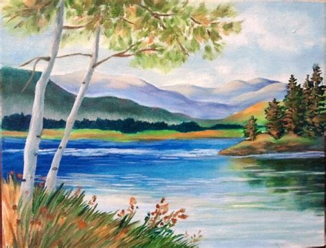 Images For Easy Scenery Paintings Hobbies Crafts
