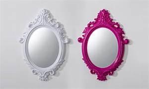 Miroir Blanc Baroque : miroir baroque groupon shopping ~ Teatrodelosmanantiales.com Idées de Décoration