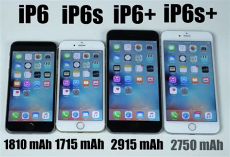 iphone plus 6s iphone 6s battery test against iphone 6 6s plus and 6 plus