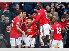 Premier League table Manchester United fight back to beat