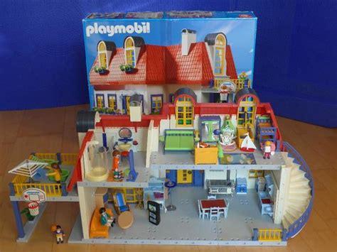 Playmobil Einfamilienhaus 3965 Mit Einrichtung 3966, 3964