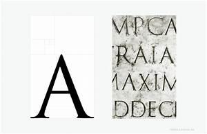 Goldener Schnitt Verhältnis : goldener schnitt im trajanisches alphabet ~ Watch28wear.com Haus und Dekorationen