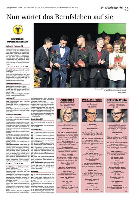 Lehrabschlüsse 2016 By Luzerner Zeitung Issuu