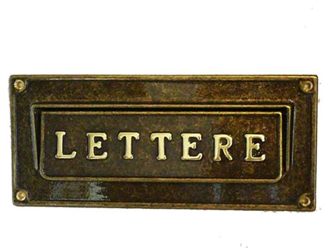 cassette lettere incasso antica soffitta arreda con stile