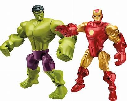 Mashers Hero Toys Marvel Hasbro Wars Iron