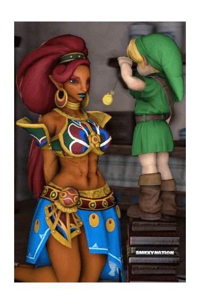 Urbosa Link Deviantart Zelda Hypnotized Wild Breath