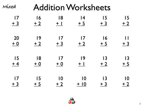 Math Sheets For Grade 1 To Print  Activity Shelter