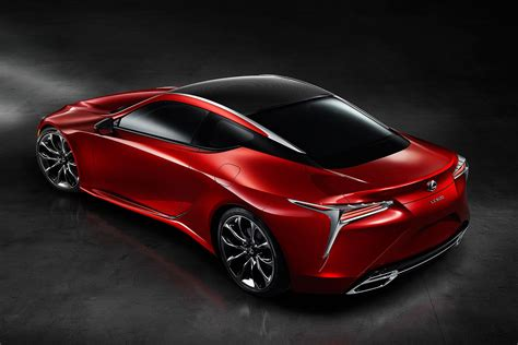 Coupe Cars :  Lexus Lc 500 Luxury Coupe Revealed At Naias