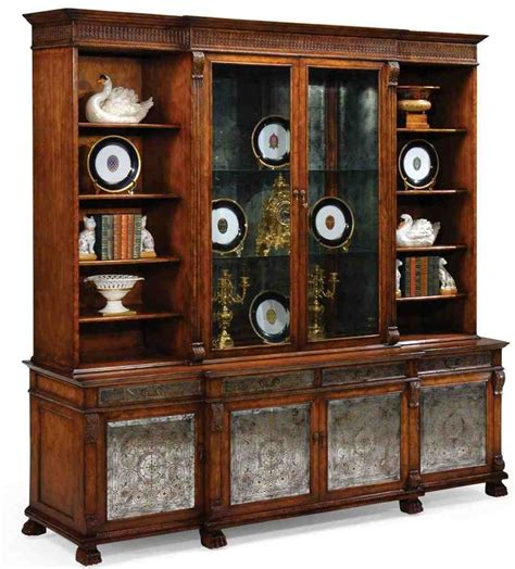 Breakfront China Cabinet  Home Furniture Design