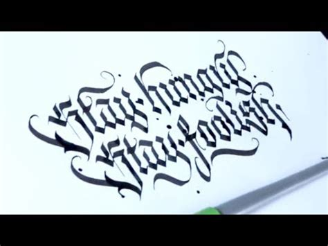 quotes written  calligraphy youtube