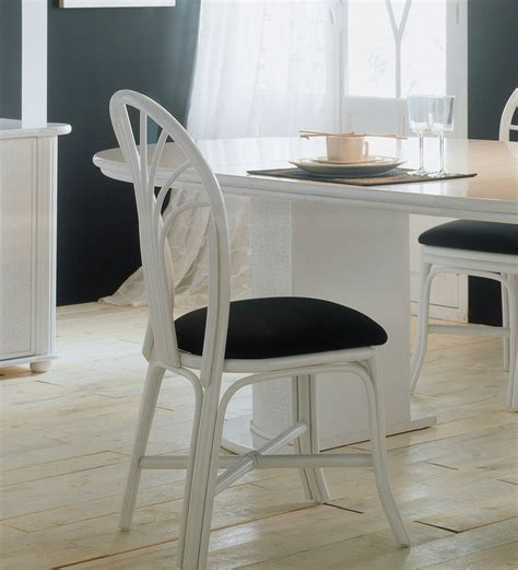 chaise de salle a manger en rotin chaise en rotin d 39 intérieur brin d 39 ouest