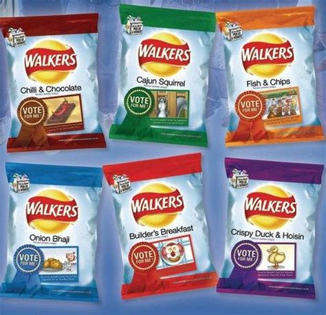 walkers crisps food discontinued crisp weird chips english foods fish breakfast snack builders flavour digital cup recipes strange bizarre guess