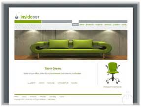 designer website interior decorator office web site design
