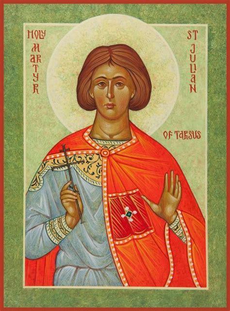 julian martyr tarsus martyr born pagan father