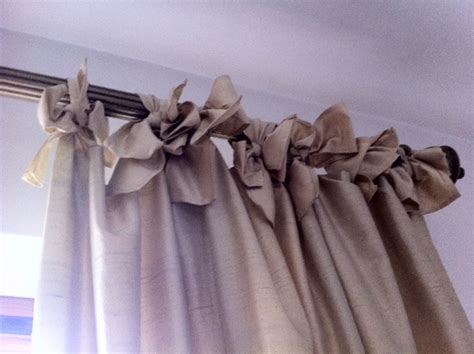Bowtie Tab Curtains  These Are So Easy To Do And Give A